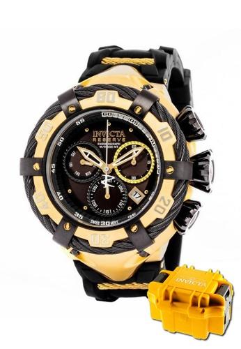 INVICTA gold Invicta Bolt Men Swiss Quartz Chronograph IP 55mm Dress Watch 21367 w/ Impact Case CA0B5ACE0825BCGS_1