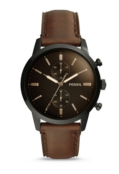 f4c5dbf74236 Fossil brown Fossil 44Mm Townsman Brown Watch FS5437 AD2EAAC5DBE2D0GS 1