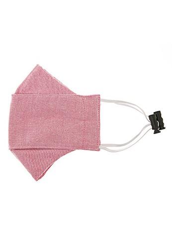 Hamlin pink Hamlin Vente Masker Earloop Non Medis Breatheable 3 Layer Washable Material Premium Cotton ORIGINAL 7640FES34E9BBAGS_1