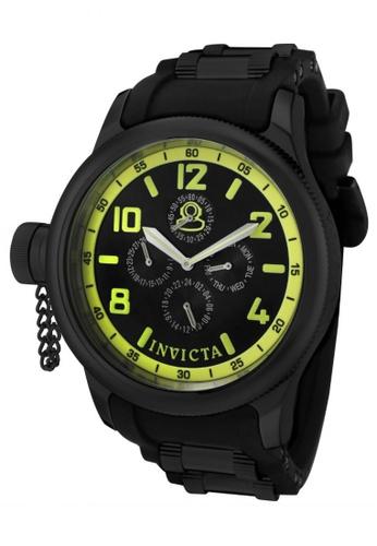 Invicta black Russian Diver IN1805 Black PU Strap Chronograph Men Watch IN456AC0RJ4JMY_1