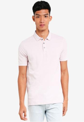 Burton Menswear London 粉紅色 短袖POLO衫 DA05EAA573A32BGS_1