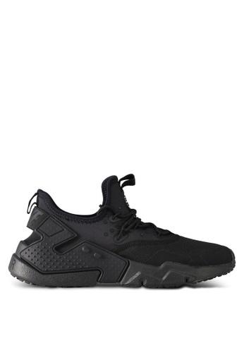 Nike black and white Men's Nike Air Huarache Drift Shoes 741ADSH7EAAD61GS_1