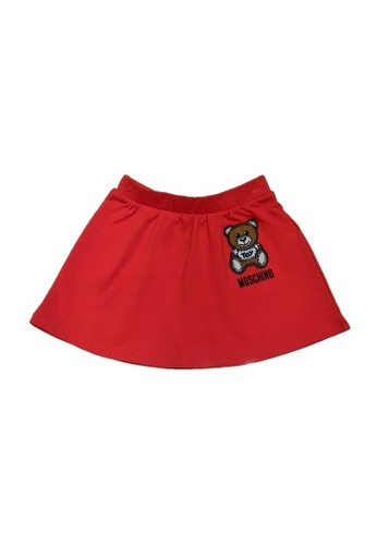 MOSCHINO BABY KID TEEN red MOSCHINO BABY SKIRT D3CD5KABC4F5EAGS_1