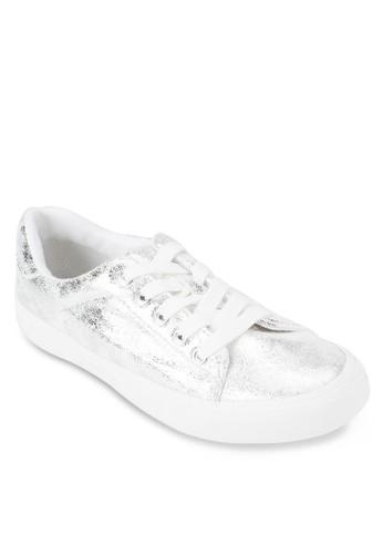 Caitlyn 亮面繫帶運動鞋, 女鞋esprit門市, 鞋