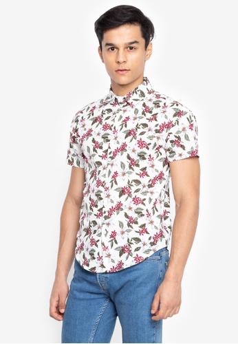 e5193cac41f3f Shop Chase Fashion Aloha Polo Button Down Shirt Online on ZALORA Philippines