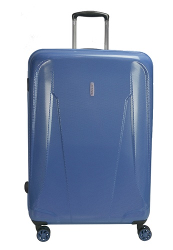Airways blue Airways 24 inch Expandable 4 Wheels Trolley Hard Case - ATH 7909 COBALT 28674AC8900557GS_1