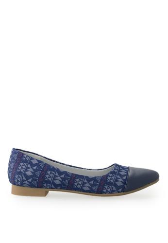 Footspot blue FOOTSPOT - Pointed Toe Flats DEF14SH45461BAGS_1