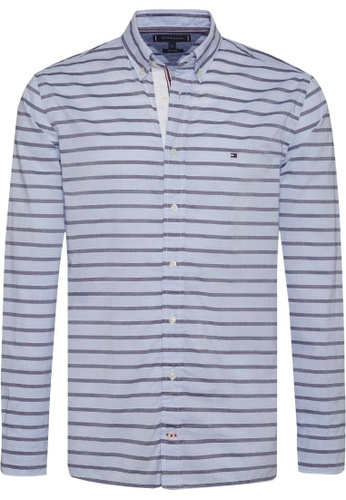 Tommy Hilfiger TOMMY HILFIGER BOLD HORIZONTAL LONG SLEEVE SHIRT EBBCFAA5B95ED0GS_1