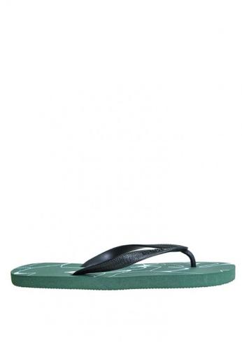 BENCH green Rubber Slippers   BE550SH0KE4EPH_1