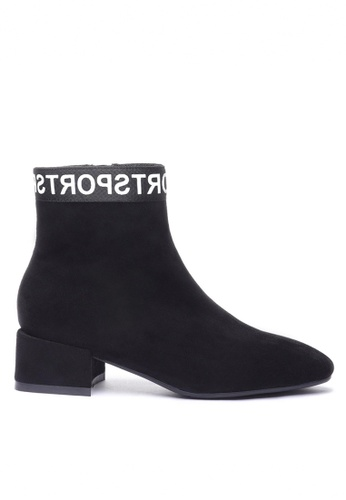 Twenty Eight Shoes black Synthetic Suede Ankle Boots 2028-8 90077SH12D2465GS_1