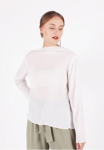 MAGNOLIA white Long Sleeved Top 2F6D0AAD166DEDGS_1