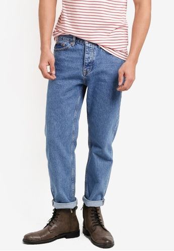 Topman blue Blue Original Fit Jeans TO413AA39BEIMY_1