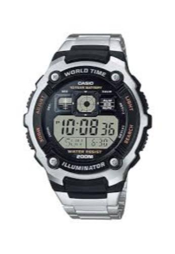 CASIO silver CASIO MEN WATCH AE-2000WD-1AVDF 0B865AC89BFDB0GS_1