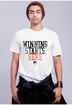Winning Starts Here T-shirt