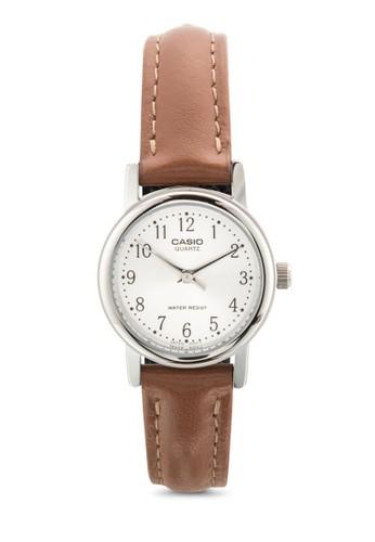 LTP-1095E-7BDF 皮革女性圓錶、 錶類、 飾品配件CasioLTP-1095E-7BDF皮革女性圓錶最新折價