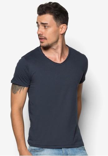 Jed 基本款V 領esprit台灣outletT 恤, 服飾, 素色T恤