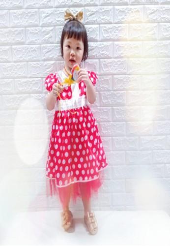 Princessa Flami red Dress Anak Minnie 1538 B12A0KA4AE55C1GS_1
