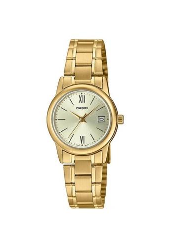 Casio gold CASIO GENERAL LTP-V002G-9B3UDF WOMEN'S WATCH 0DE7CAC2360DF6GS_1