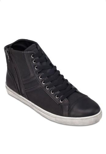 側拉鍊繫帶高筒esprit 鞋運動鞋, 鞋, 休閒鞋