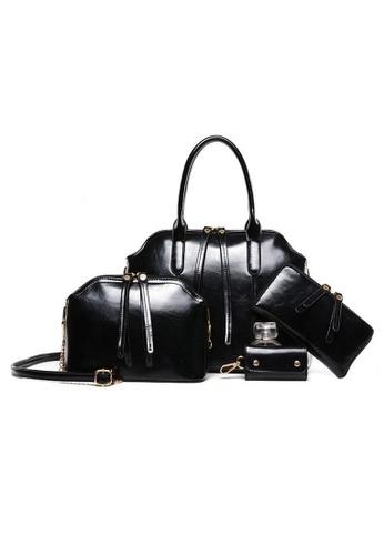 Jackbox Set of 4 Artificial Leather Purse Sling Bag Handbag Tote Bag 904 JA762AC49HYOMY_1