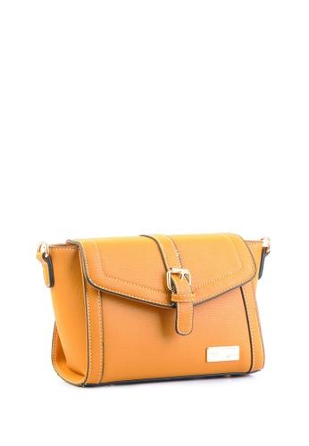 AR by Alfio Raldo yellow AR By Alfio Raldo AB-2305 Sling Bag Yellow AR107AC0RTAAMY_1