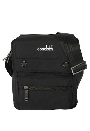 Condotti black Condotti Sling Bag C-83536 Black 73899AC32FBF17GS 1 71d04f4746