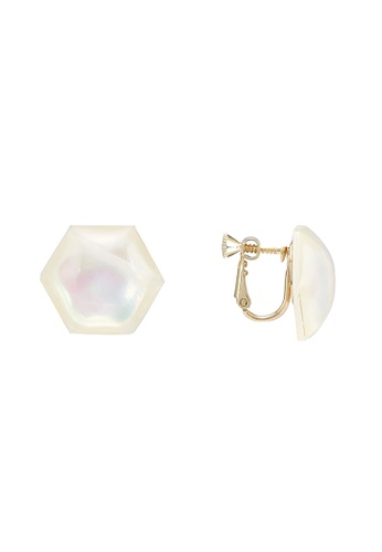 niko and ... white Stud Earrings DDAC5AC46488DDGS_1
