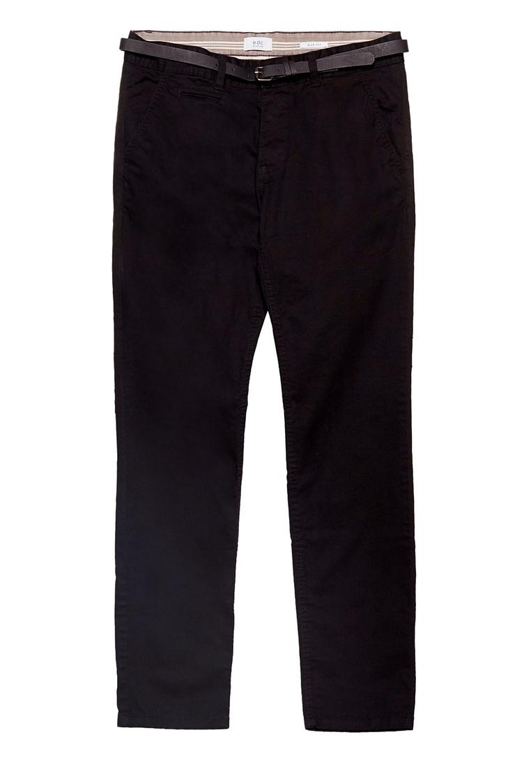 Belted Pants Black Chino Pants ESPRIT Chino Black ESPRIT Belted Black Chino ESPRIT Belted Pants TwAqnB