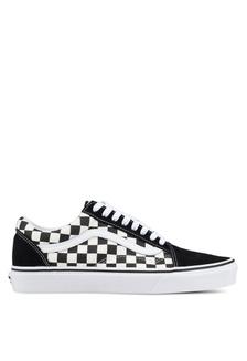 7fd71d10381 Old Skool Primary Check Sneakers 2C6B8SH3D34429GS 1 VANS ...