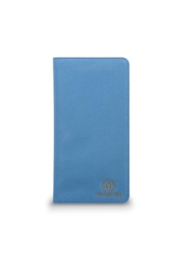 Monocozzi blue Lush Passport Holder MO983AC95VJOHK_1