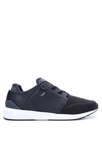 Levi's black Tab Runner Sneakers LE892SH29PSSPH_1