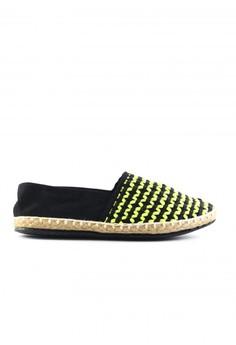 Habi Footwear Women's Classic Espadrilles Limited - Neon