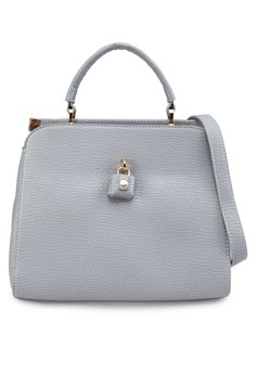Unique Texture Convertible Structured Satchel