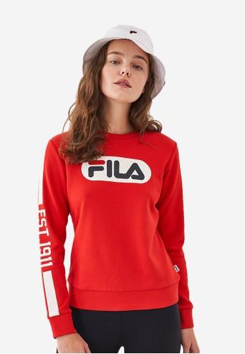 FILAFILA Women SweatshirtFILA LOGO Sweatshirt