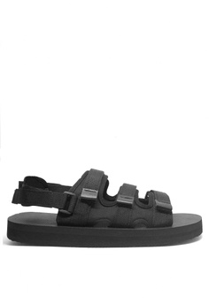 65fb711e56b2 Twenty Eight Shoes black MC28 EVA Flexible Two Ways Strappy Sandals  (Beachwear Items) A511BSH0555363GS 1