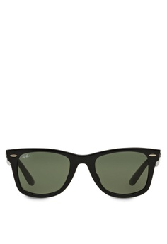 15e96e5b870 Ray-Ban black Original Wayfarer RB2140 Sunglasses RA370GL73RZASG 1