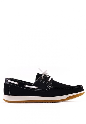7soles black Reiner Casual Shoes 89164SHE277096GS_1