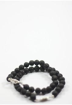 Ignus Lava Stone Bracelet