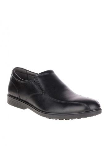 Hush Puppies black Onchu Ledger Waterproof Dress Casual Shoes 86A70SH04F67FFGS_1