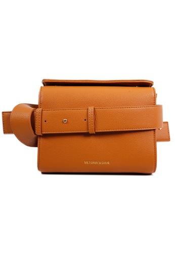 Victoria Sloane brown Essex Handbag A4A7CAC6B57718GS_1