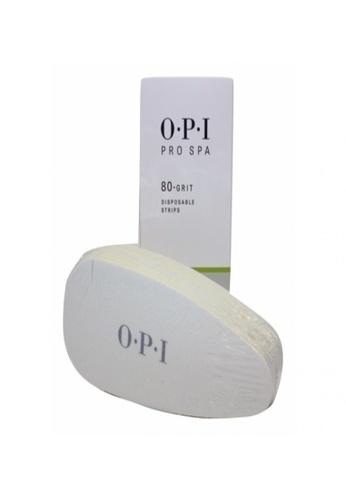 O.P.I AS103 - ProSpa - Disposable Grit Strips - 80 Grit Strip C5D4EBE86122BBGS_1