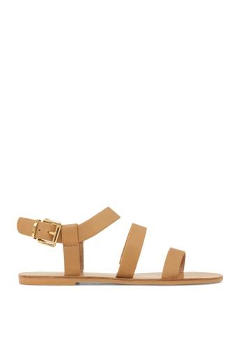 ROC Boots Australia brown Casbah Tan Sandal RO289SH48BPVSG_1