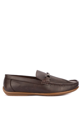Italianos brown Max Loafers CAEF8SHA2DBF96GS_1