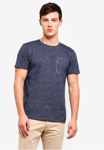 ESPRIT 海軍藍色 Short Sleeve T-Shirt 49444AA80EDB00GS_1