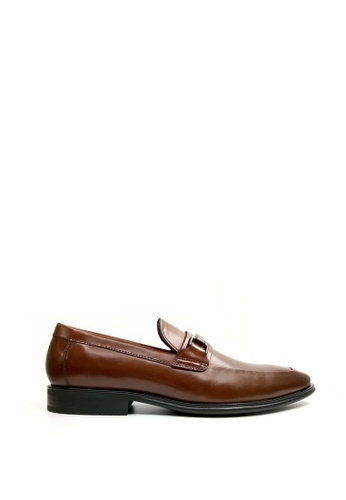Kenneth Cole New York brown ZANE LOAFER - Dress Loafer 78B23SH65FC381GS_1