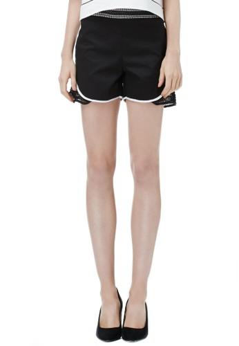 運動網狀拼接短褲、 服飾、 休閒短褲VACAE運動網狀拼接短褲最新折價