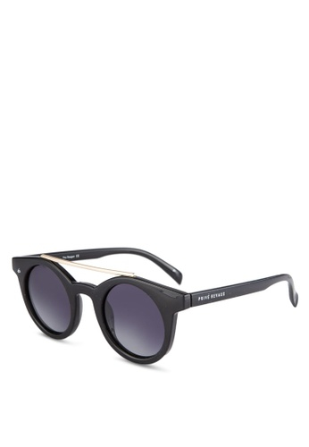 Privé Revaux 黑色 Limited Edition The Reagan Sunglasses PR660GL0S1PCMY_1
