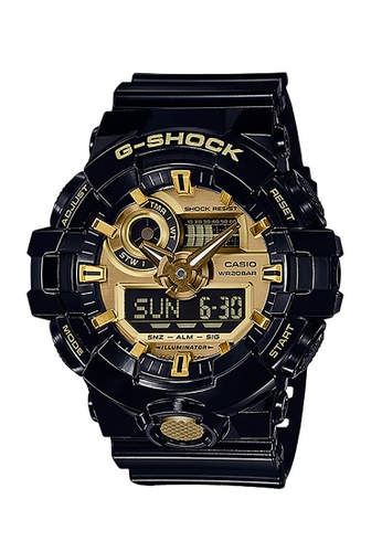 Casio gold CASIO G-SHOCK WATCH GA-710GB-1ADR F1E1DACB95FC97GS_1