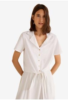 23baa8a529d1f Knot Cotton Shirt 06038AA20B2D38GS 1