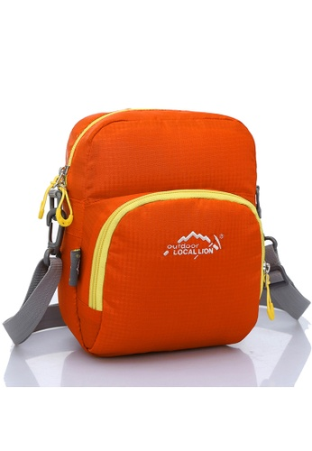 Local Lion orange Local Lion Casual Sling Bag 309 (Orange) LO780AC83XBCMY_1